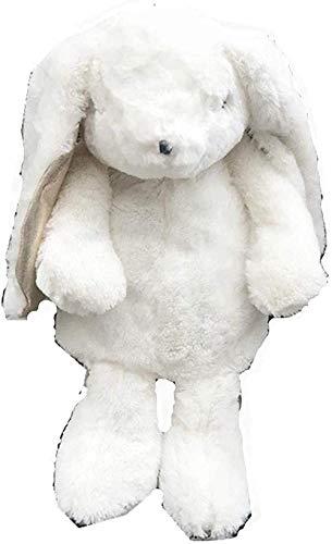 Mochila de Felpa Mochila de Conejo Blanco Mochila Escolar de Conejos japoneses Juguete de Peluche Niños Niña Novia Cumpleaños