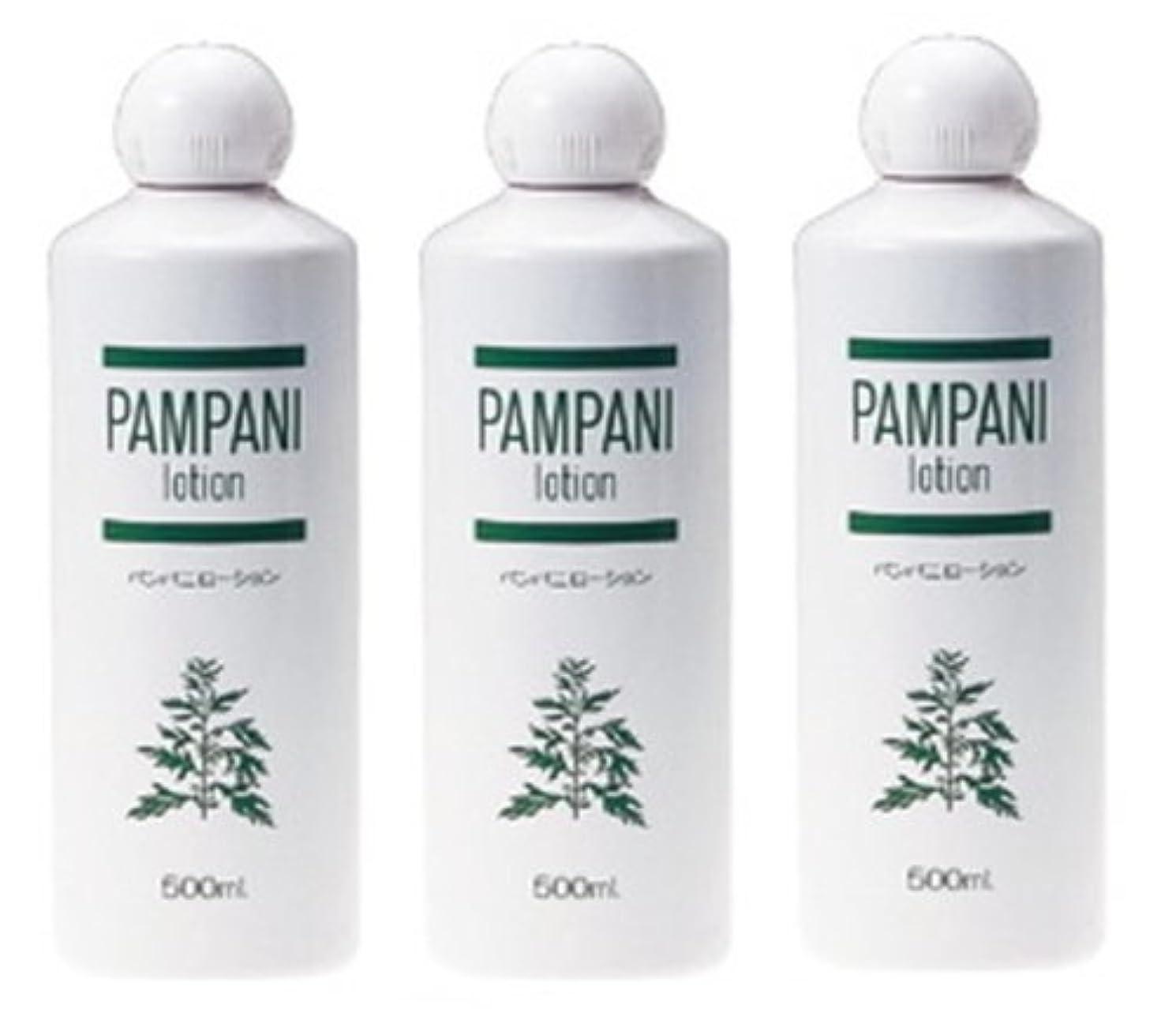 留まる削るおもしろいパンパニ(PAMPANI) ローション 500ml×3本組