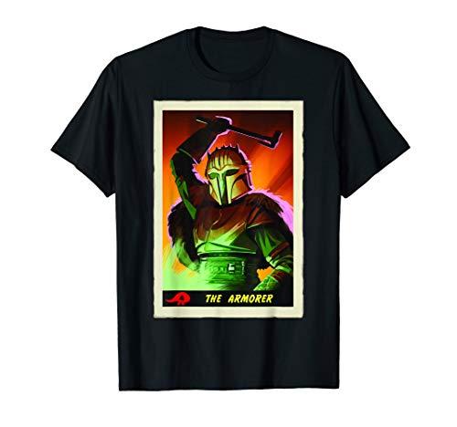 Star Wars The Mandalorian The Armorer Card T-Shirt