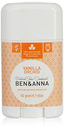 Ben & Anna Natuurlijke Deodorant Stick Vanilla Orchid, 60g