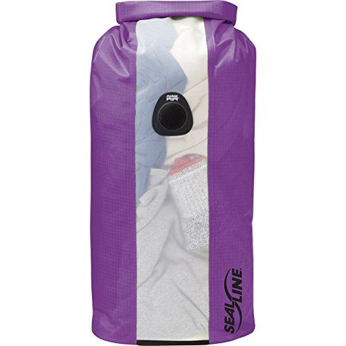 SealLine Bulkhead View Dry Bag, Purple, 20L