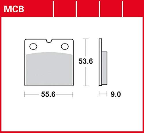 TRW Sinter Street 247E 80-87 - Pastiglia freno anteriore ad alte prestazioni R80 G/S Monolever