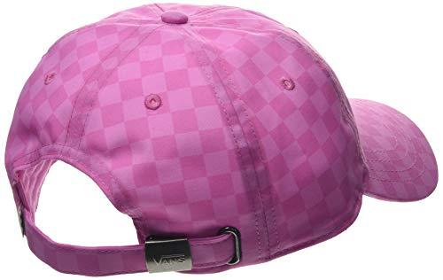Vans Court Side Printed Hat Berretto da Baseball, Rosa (Fuchsia Pink Checkerboard Vdf), (Taglia Unica: OS) Donna
