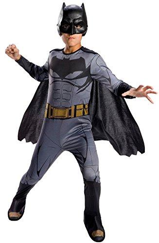 Batman - Disfraz Justice League infantil, 5-7 años (Rubie's Spain 640099-M)