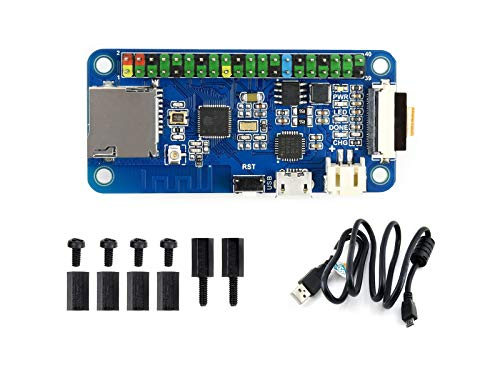 Waveshare ESP32 One A Mini Development Board with WiFi/Bluetooth Support Image Recognition Voice Processing Compatible with Sorts of Raspberry Pi Hats (Include Camera Module)