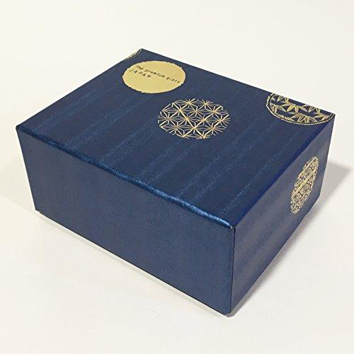 アデリア酒器日本酒グラスブルー100mlプレミアムニッポンテイスト丸紋酒グラスペアギフト日本製S6210