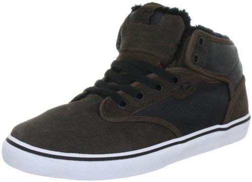 Globe Motley Mid, Unisex-Erwachsene Hohe Sneakers, Braun (17220 choco/black Fur), EU 37.5 (US 5.5)