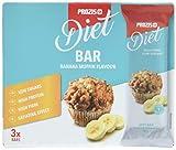 Prozis 3 x Diet Bar 35 g Bananen-Muffin
