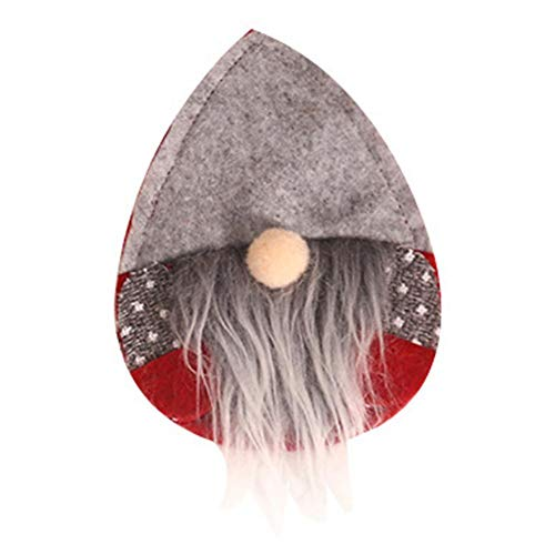 Dynamicoz Cuchillo Nueva Navidad Y Tenedor Conjunto Creativo diseño de Navidad Decoración...