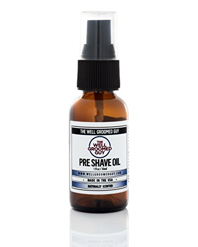 PREMIUM Pre Shave Oil For Gentlemen| The Best Facial Skin Care For Men On Amazon| The ONLY Oil W/ 25...