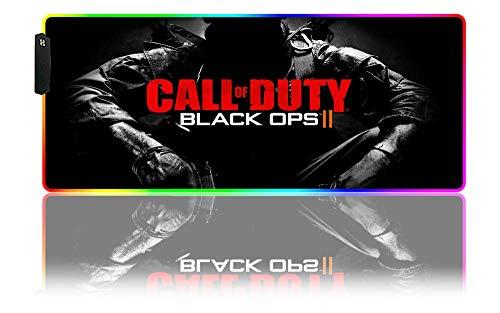 Call of Duty Modern Warfare Gaming Alfombrilla de Ratón RGB Grande para...
