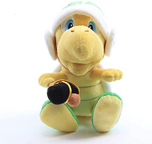 Mario-serien hammare bror sköldpadda Koopa plyschleksak 20 cm söt plysch leksak rum dekoration födelsedagspresent fylld docka kreativ present