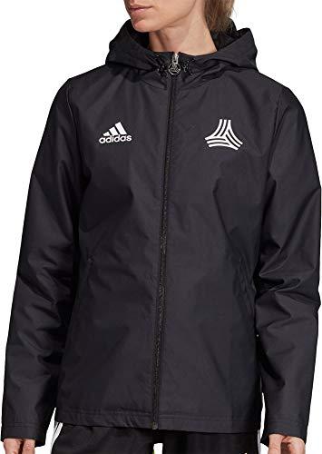 adidas Womens Tango Windbreaker Jacket (Black/X-Large)