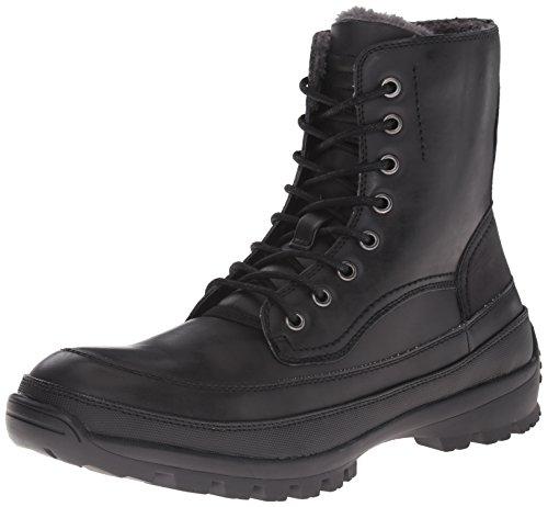 Kenneth Cole Unlisted Men's Imag-Nation Combat Boot, Black, 10 M US