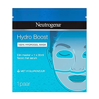 Neutrogena Hydro Boost Face Mask, Cloth Mask, Hydrogel with Hyaluron, 30 ml from Johnson Johnson Gmbh