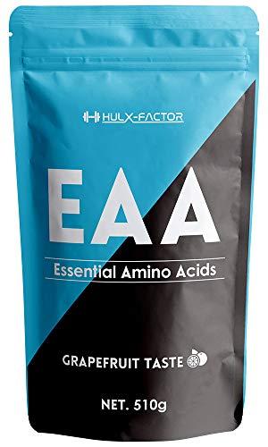 必須アミノ酸 サプリ EAA 415430mg ハルクファクター 510g 53食分 パウダー 国産