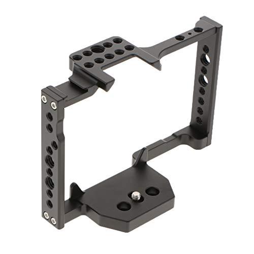 Homyl Caixa de Câmera DSLR para Acessório de Estabilização de Vídeo Lumix GH5 Preto