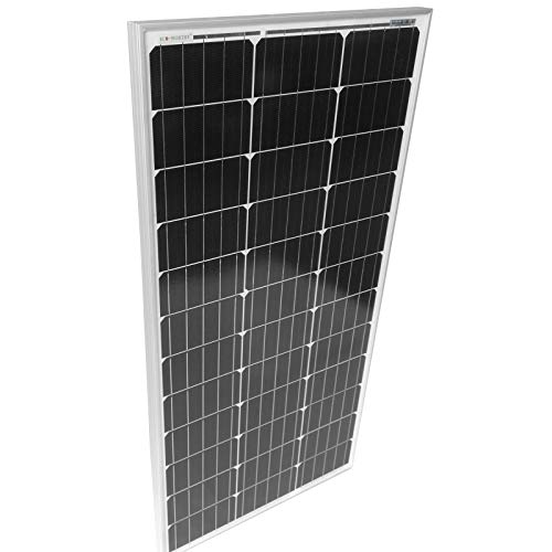 Monokristallin Photovoltaik Solarmodul - 50 100 130 150 165 W, inkl. MC4 Ladekabel, 17 18 V für 12 v Batterien, Setwahl - Solarpanel, Solarzelle, Solarladegerät, Solaranlage (2 x 100W (200W))