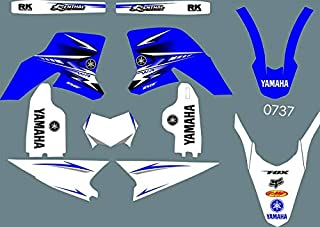 DST0737 3M Custom Motorcross Stickers Motorcycle Decals Graphics Kit for YAMAHA WR250R 2008 2009 2010 2011 2012 2013 2014 2015