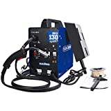 MIG 130A Welder 110v Flux Core Wire Automatic Feed Welding Machine AC Welder