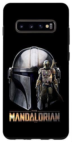 Galaxy S10+ Star Wars: The Mandalorian Helmet Collage Case