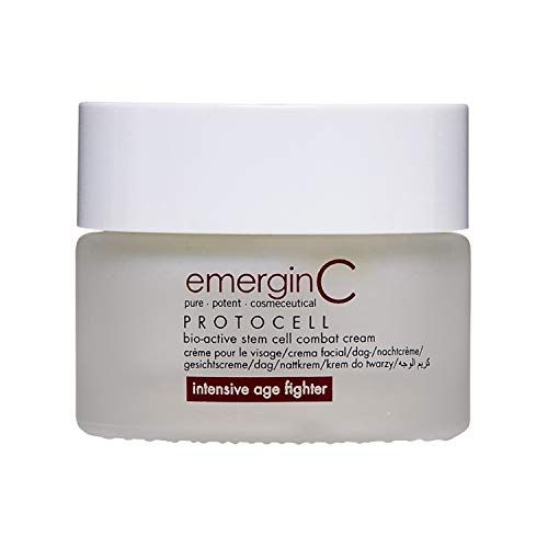 emerginC Protocell Anti-Aging Face Cream - Bio-Active Plant Stem Cell Moisturizer with Hyaluronic Acid - Combats Visible Signs of Aging, Fine Lines + Wrinkles (1.7 oz, 50 ml)