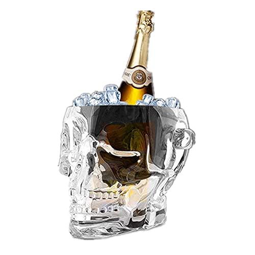 IJsemmer Clear Acrylic, Opslagbad, Wijn, Bierfles Drinken Koeler, Stuur Clip, Food Grade Safe for Your Home Bar Parties