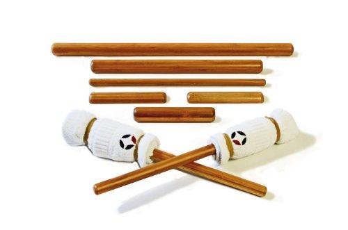 Vulsini - Vara de masaje (bambú, 8 unidades)