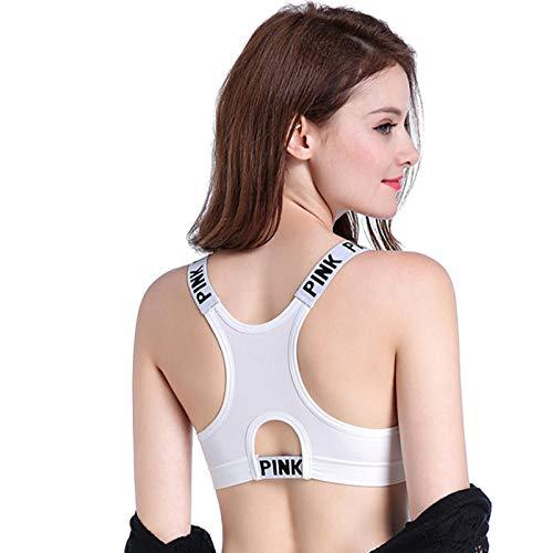 Yogabroek extra zachte legging met zakken voor dames,Naadloze legging met hoge taille, fitnessyogabroek voordames, wittebh-2_S,Blouse met V-hals