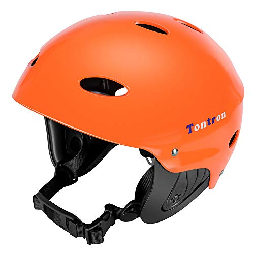 Tontron Adult Whitewater Kayaking Canoeing Watersports Helmet