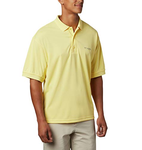Columbia PFG Perfect Cast Polo pour Homme, Respirant, Protection UV
