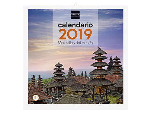Finocam 780303219 - Calendario de pared 2019