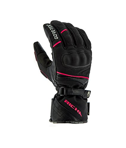 RICHA DIANA GORE-TEX Handschuhe schwarz/pink