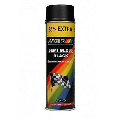 Lack Rallye Seidenglanz schwarz 500ml