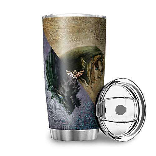 Generic Branded Zelda Twilight Princess - Taza de café (acero inoxidable, 600 ml), diseño de princesa