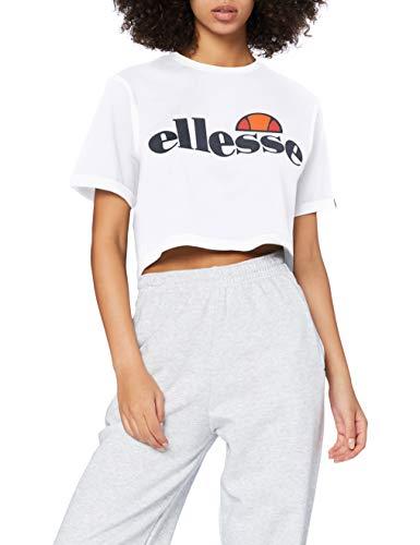 Ellesse Alberta Top, Mujer, Blanco (Optic Whit), 38