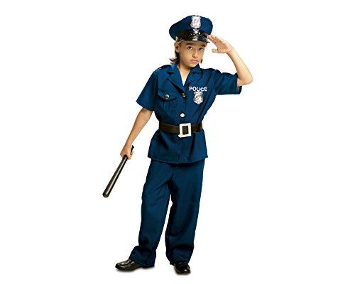My Other Me Me - Disfraz de Policía para niño, talla 5-6 años (Viving Costumes MOM00933)