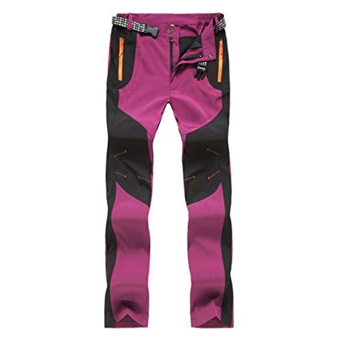 Sneldrogende, waterdichte broek voor buiten, short joggingbroek, vrijetijdsbroek, panty's. XX-Large roze