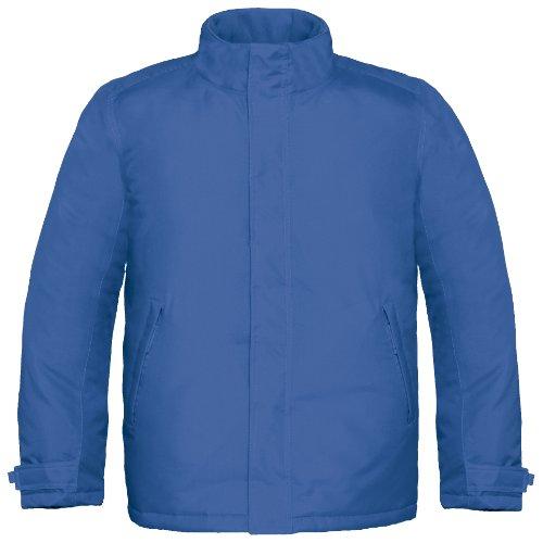 B&C Herren Real+ Premium Thermo-Jacke, wasserabweisend, Winddicht (M) (Königsblau)
