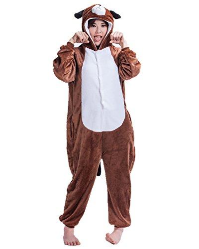 BIFINI Damen Halloween-Kostüme One Piece Anime Pyjamas Heim Kleidung Small Hund