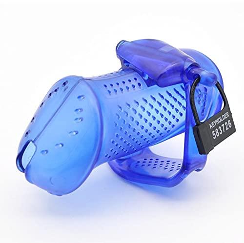 Dispositivo Protector de plástico para Hombres Transpirable de diseño Hueco Azul (64 mm / 67 mm / 71 mm) -F288