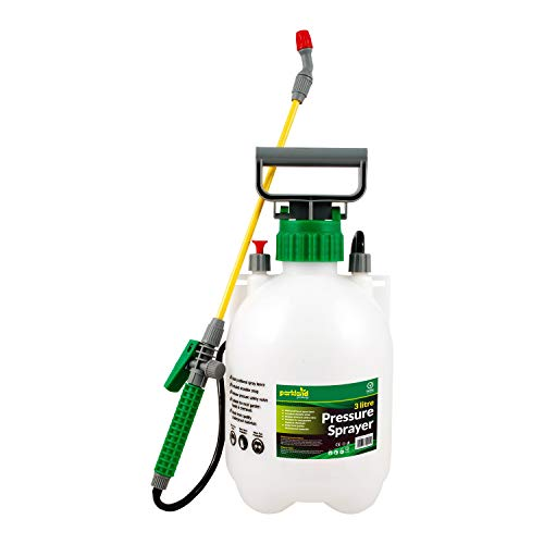 Parkland® 3 Litre Pump Action Pressure Sprayer - use with water,...