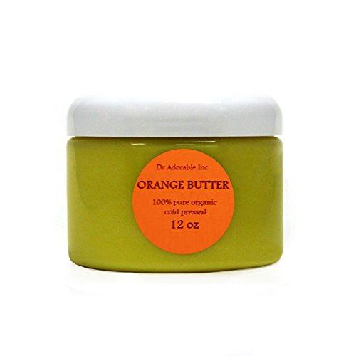 Orange Butter Organic 100% Pure 12 Oz