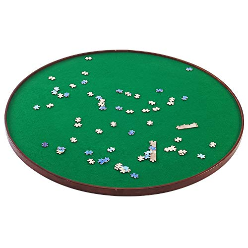 ATDAWN Round Jigsaw Puzzle Spinner
