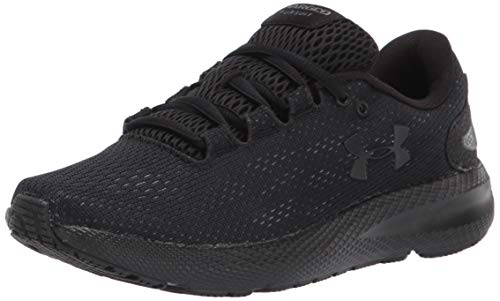 Under Armour Women's Charged Pursuit 2 Running Shoe, Black, 10.5 M US