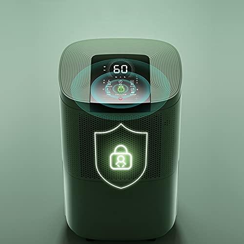 Deumidificatori 10L, efficienza energetica, filtro dell'aria ultra silenzioso con sbrinamento automatico e riavvio automatico, deumidificatore d'aria con modalità lavanderia, modalità sospensione