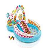 Piscina hinchable Patio infantil infantil, caramelo multifuncional Piscina...