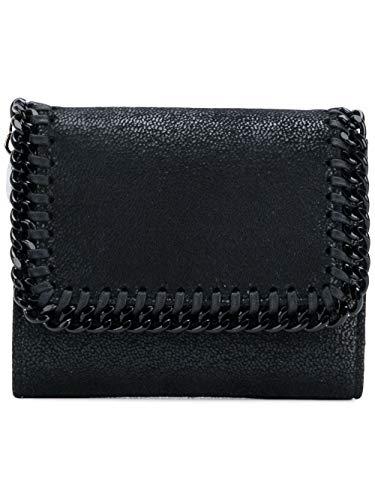 Luxury Fashion | Stella Mccartney Dames 431000W81801000 Zwart Synthetische Vezels Portemonnees | Seizoen Permanent