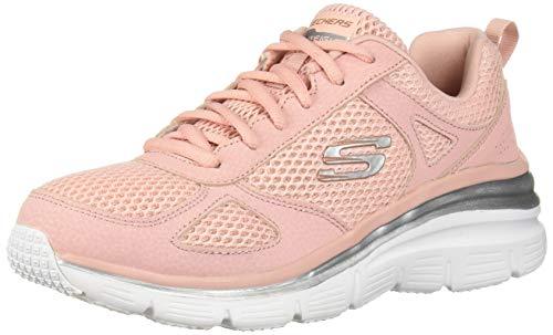Skechers Fashion Fit - Perfect Mate - Zapatillas de deporte para mujer, Rosa (Pnk), 39 EU