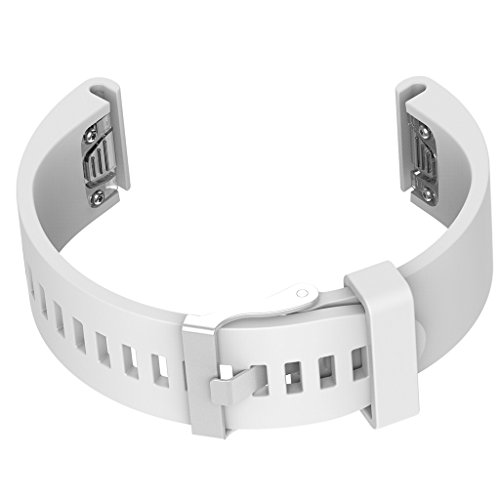 Homyl Pulseira Faixa Bandagem Pulseira Acessórios para Relógio Garmin Fenix 5s - Branco